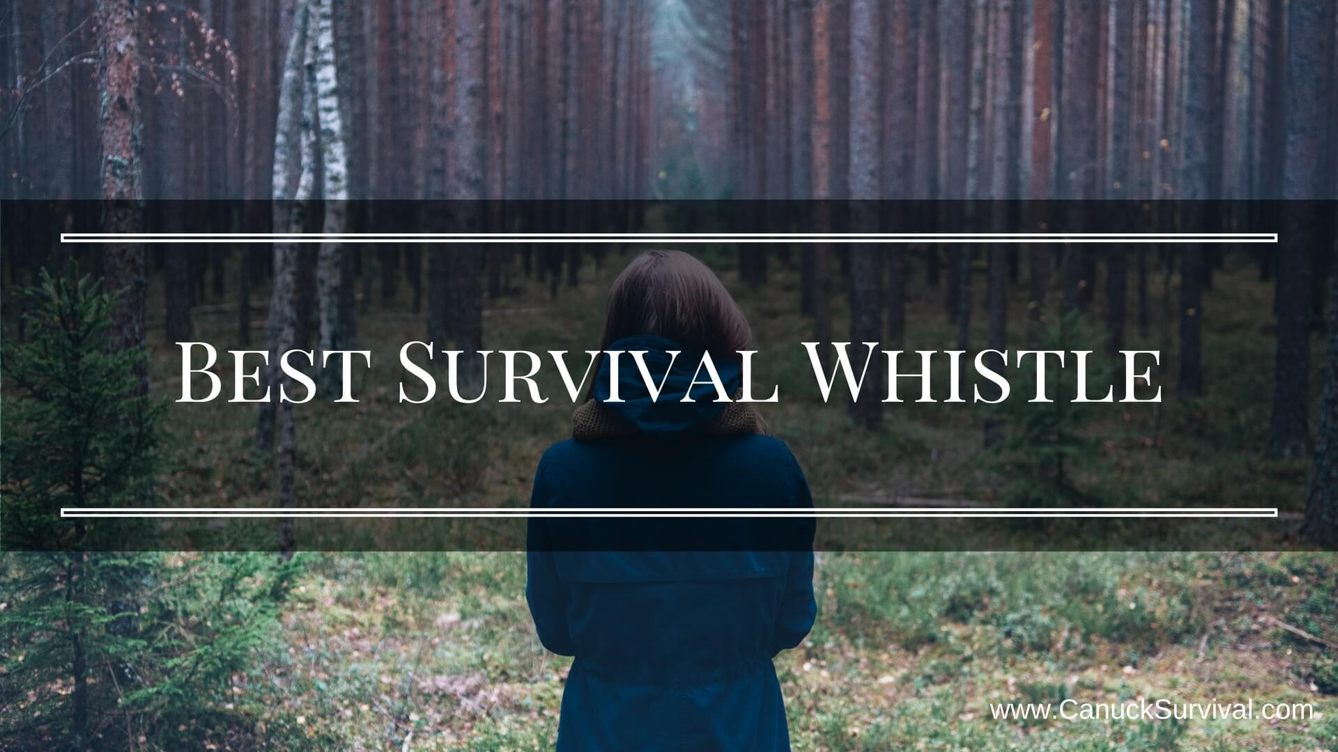 Best Survival Whistle