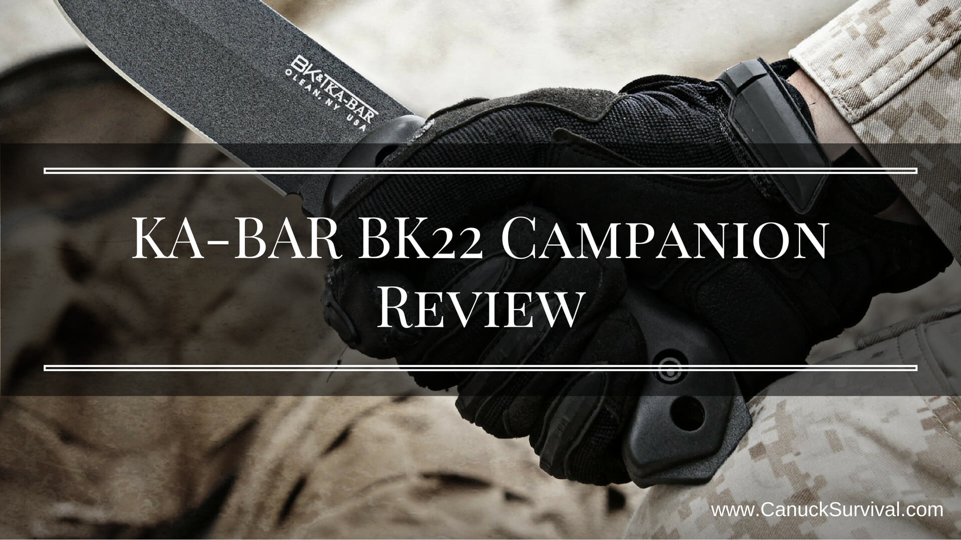 KA-BAR BK22 Campanion Review