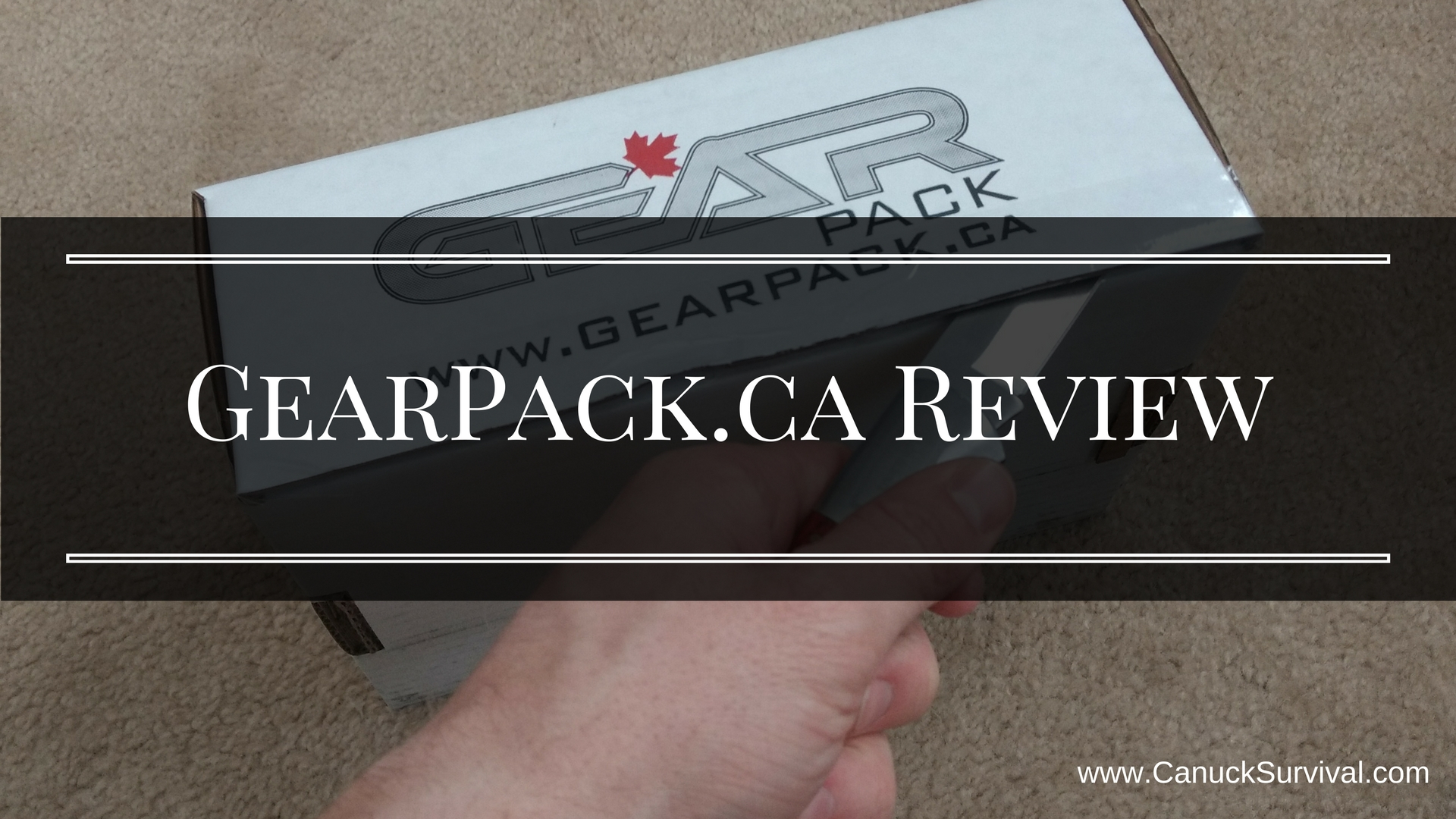 Gear Pack Subscription Box Review